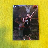 SPURS TONY PARKER , 1997 TOPPS STADIUM CLUB BASKETBALL ROOKIE CARD #237 RC MINT