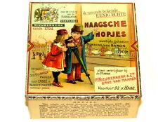 Early Dutch The Hague Hopjes Children Candy Tin 1910
