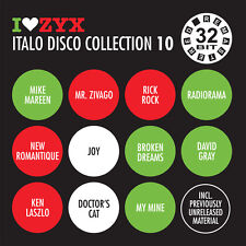 CD ZYX Italo Disco Collection 10 von Various Artists 3CDs