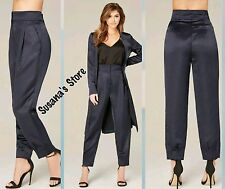 NWT BEBE Pleated Satin Pants SIZE XS Beautiful, classy and ultra confy $102