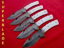 Custom hand made damascus steel  blank blades for knife making wm0068