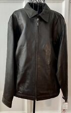 Chaps Ralph Lauren Leather Genuine Jacket Size M