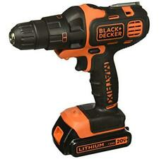 Cordless Drill Lithium-Ion Driver With Impact Kit Extra Attachment Inc. Battery