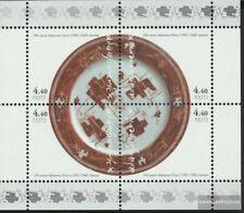 Estonia Bloque 18 (completa.edición.) nuevo con goma original 2002 Eric