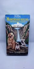 Homeward Bound: The Incredible Journey Vhs, Vcr Tape 1993