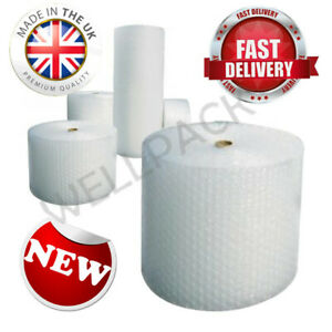Bubble Wrap 50m / 100m Meter Rolls Packaging Storage - Widths 300/500/750/1000