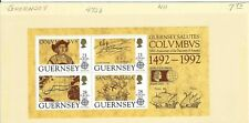COLUMBUS>>500th ANNIV. OF THE DISCOVERY OF AMERICA.-  GUERNSEY 1992