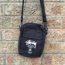 STUSSY Nuovo di Zecca spalla sacchetto con Spalline Borsa Da SMART MAGAZINE man bag