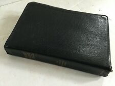 New listing Holy Bible Scofield Reference Edition Kjv Oxford Genuine Leather 1969