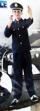 Kinder Fasching Knaben Kostüm POLIZIST ( 3tlg- Hemd, Hose, Mütze) ( 3-6 Jahre)