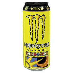 24 x Monster Energy The Doctor 500ml Cans Fitness Drink Red Bull FREE DELIVERY
