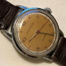 Girard Perregaux military nickel chromiun case screw cap running condition