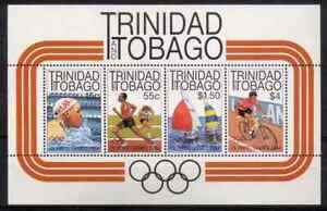 TRINIDAD & TOBAGO 1984 - BLOC OLYMPIC LOS ANGELES MNH