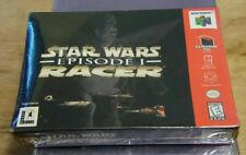 Star Wars: Episode I: Racer (Nintendo 64, N64 1999) Brand New Factory Sealed