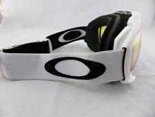 Oakley AIRBRAKE Snow Goggles Polish White - Hi Yellow + Dark Grey Lens