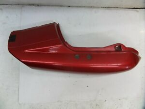 Yamaha FZS600 Fazer RH seat fairing panel and tail piece joiner in Red Maroon