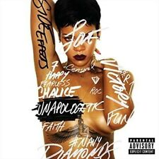 Rihanna Unapologetic Deluxe Edition CD Including Tour Dvd.parental Guidance