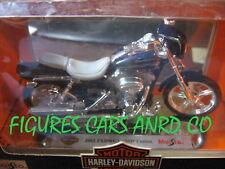 MOTO 1/18 HARLEY DAVIDSON  FFX DWG CVO CUSTOM 2002  MAISTO BOITE