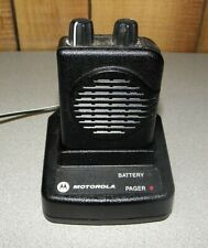 Motorola Minitor V Pager / Non voice and Charging base