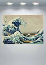 Hokusai The Great Wave off Kanagawa Large Poster Art Print in multiple sizes