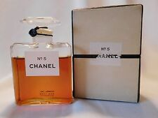 Vintage CHANEL No 5 with Dot, 1 oz  Parfum / Perfume