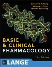 Basic And Clinical Pharmacology 13 E: By Bertram Katzung, Anthony Trevor