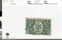 Canada 1939 #E7 Θ used F/VF Special Delivery coat of arms. cds Chatham Ontario