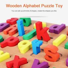 Wooden Alphabet Small Letters Puzzle Kid Learning for Pre School Educational Toy