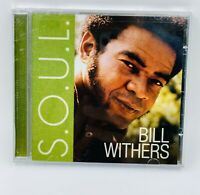 Bill Withers S.O.U.L. CD 2011 Soul Funk R&B Motown Sony Just As I Am Lean On Me