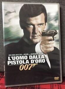 007 L'Uomo Dalla Pistola D'oro DVD Nuovo Sigillato Roger Moore James Bond