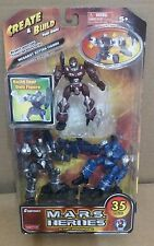 New!!! M.A.R.S. HEROES Create & Build Your Own Megabot Action Figures 35 Pcs