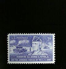 1953 3c General George S. Patton, United States Army Scott 1026 Mint F/VF NH