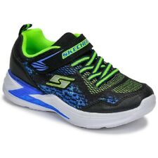 SKECHERS - Art. 90563L/BBLM - Colore black/blue/lime light