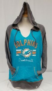 BRAND NEW Majestic Fan Fashion Women's NFL Miami Dolphins Pullover Hoodie