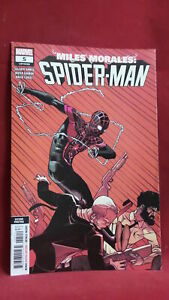 MILES MORALES SPIDER-MAN #5 2ND PTG GARRON VAR 8.5/VF+ MARVEL COMICS