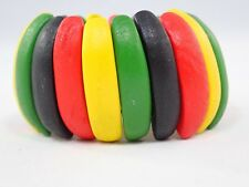 Multi Color Wooden Bracelet