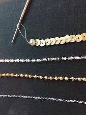 6 Tambour Hook, Aari needles, Hook Needles, Embroidery Supply, Tambour Needles..