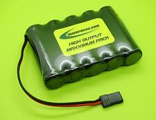 6V 1400mA A FLAT NICAD RX BATTERY 4 RC AIRPLANES / JR / MADE IN USA / NC1405F-U