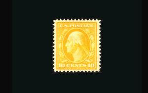 US Stamp Mint OG & Hinged, XF S#338 Jumbo Margins, fresh color