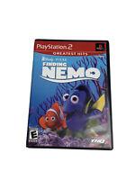 PLAYSTATION 2  PS2 GAME DISNEY . PIXAR FINDING NEMO  No membership Card