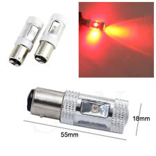 2X 1157 Red LED Car Rear Tail Brake Stop Lights Parking Light Turn Signal Light