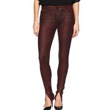 William Rast Women's Kate Moto 5 Pocket Skinny Jeans with Front Hem Slit Size 25