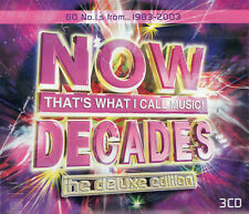 Now That's What I Call Music - Decades (60 No.1s) 3CD SET -  NEW & SEALED!!!