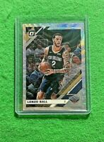 LONZO BALL PRIZM SILVER WAVE CARD PELICANS 2019-20 DONRUSS OPTIC BASKETBALL