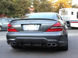 AMG Style ABS Trunk Spoiler For MY02-11 Mercedes-Benz R230 SL-Class (UNPAINTED)