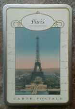 Paris Carte Postale Tin Series of 18 Cavallini & Co NEW