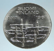 elf Finland 10 Markkaa 1967 Whooper Swans