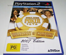 World Series of Poker 2007 Edition PS2 PAL *Complete* Free Post