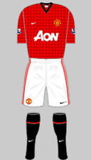 Boys Football Shirt & Shorts Kit - Manchester United - Home 2012 - Nike - XL