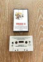 Chicago IX Greatest Hits Cassette Tape 1975 CBS Records